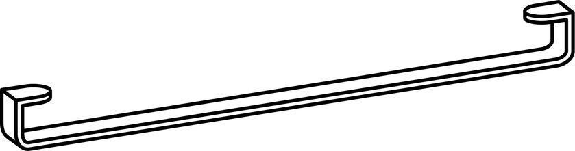 Laufen Living by Laufen - držák na osušky pro umyvadlo H814437 H8954370040001