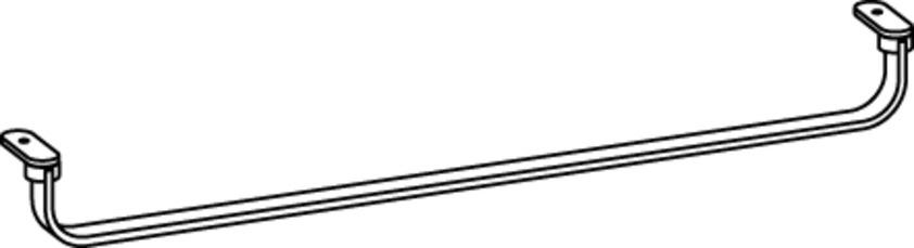 Laufen Case - držák na ručník pro umyvadlo H816433 H3814330040001