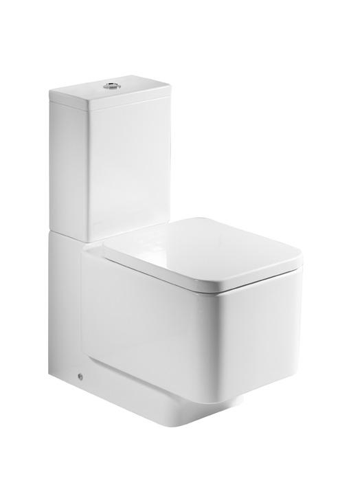 Roca Element - WC mísa kombi, hluboké splachování, vario odpad, bez nádržky a sedátka A342577000