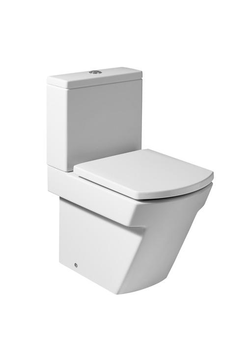 Roca Hall - kombi klozet WC nádrž 3/4,5, hluboké splachování, vario odpad, bez sedátka A34262S000+A34162S000