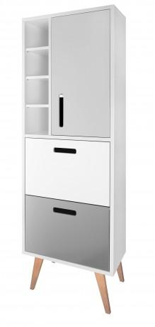 Dřevojas Retro SVZ 60 individual - skříňka vysoká, závěsná 24249