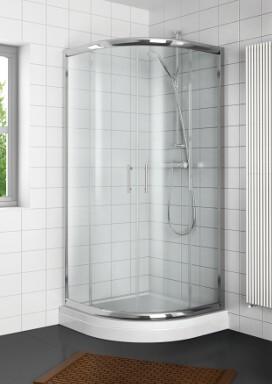 Sprchová zástěna Riho Hamar čtvrtkruh - 90x90 R55