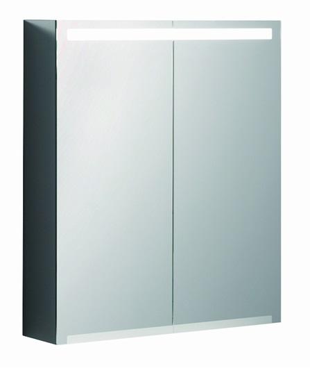 Keramag Option - zrcadlová skříňka s osvětlením 60x70 800360