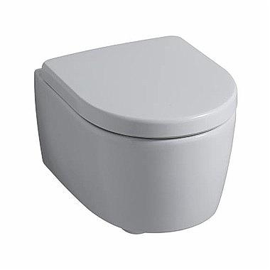 Keramag iCon - Rimfree klozet závěsný, hluboké splachování, bez splachovacího kruhu, bez sedátka 204060-Keramag