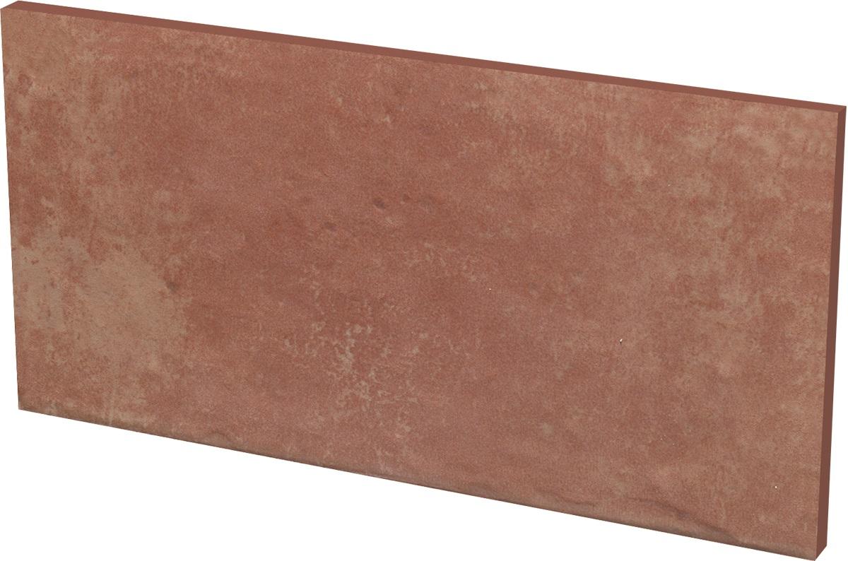 Ceramika Paradyz Cotto naturale plytka podstopnicowa - podschodnice 30x14,8 hnědá 135825