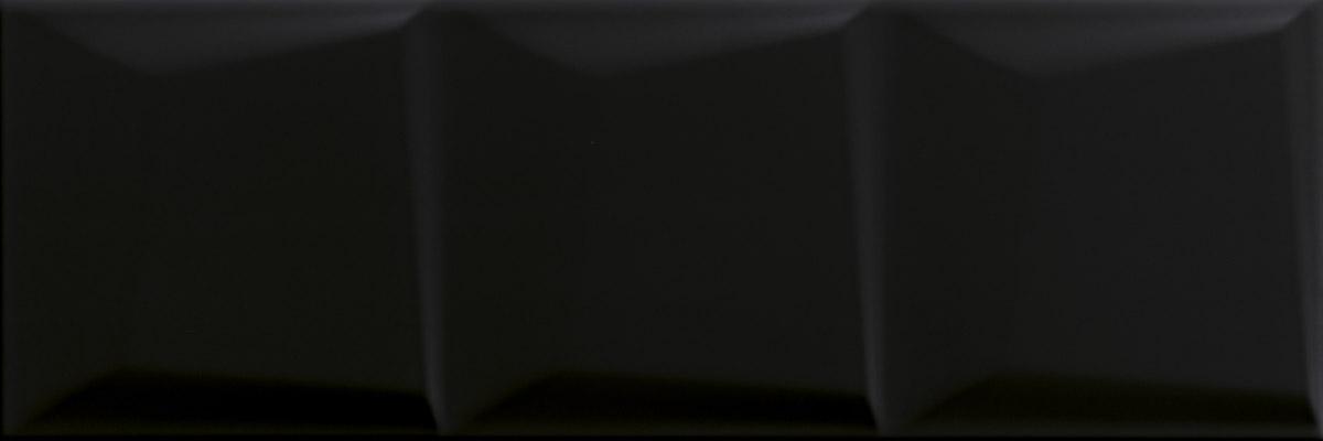 Maloli nero struktura C - obkládačka 20x60 černá