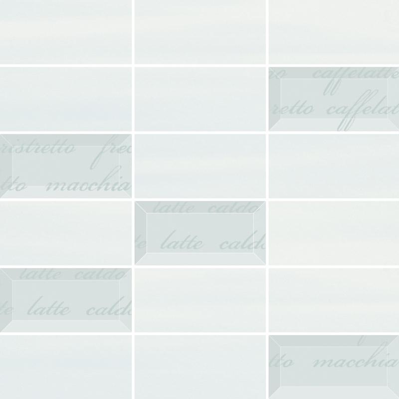 Ceramika Paradyz Chiara bianco/azul mix mozaika cieta - obkládačka mozaika 29,8x29,8 127447
