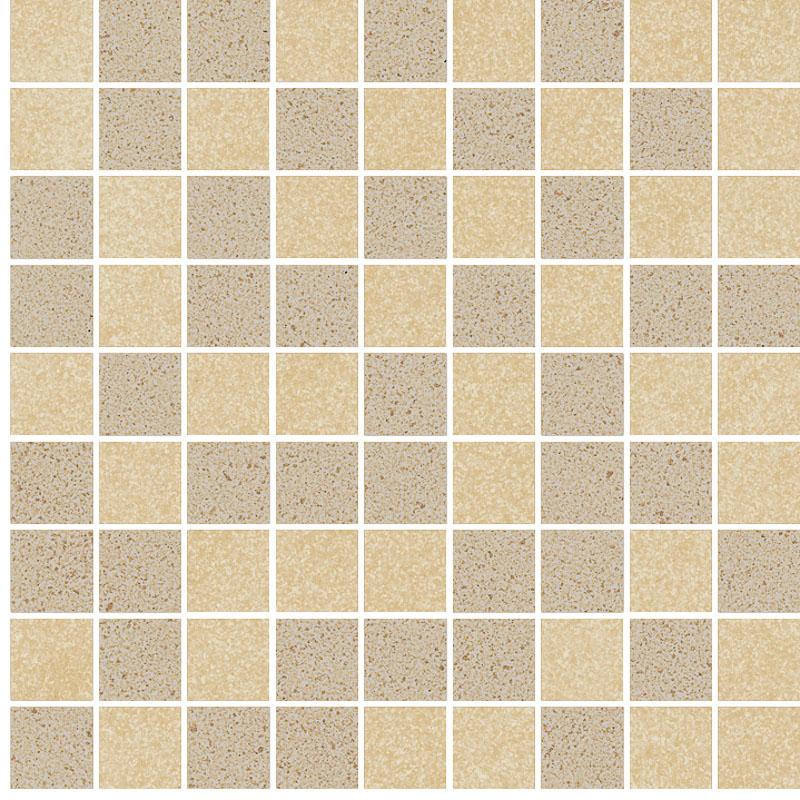 Ceramika Paradyz Arkesia beige/brown mozaika mix poler - dlaždice mozaika 29,8x29,8 114741