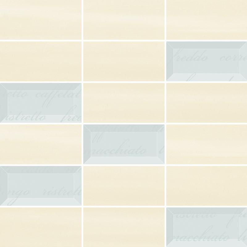 Ceramika Paradyz Chiara bianco/beige mix mozaika cieta - obkládačka mozaika 29,8x29,8 127446