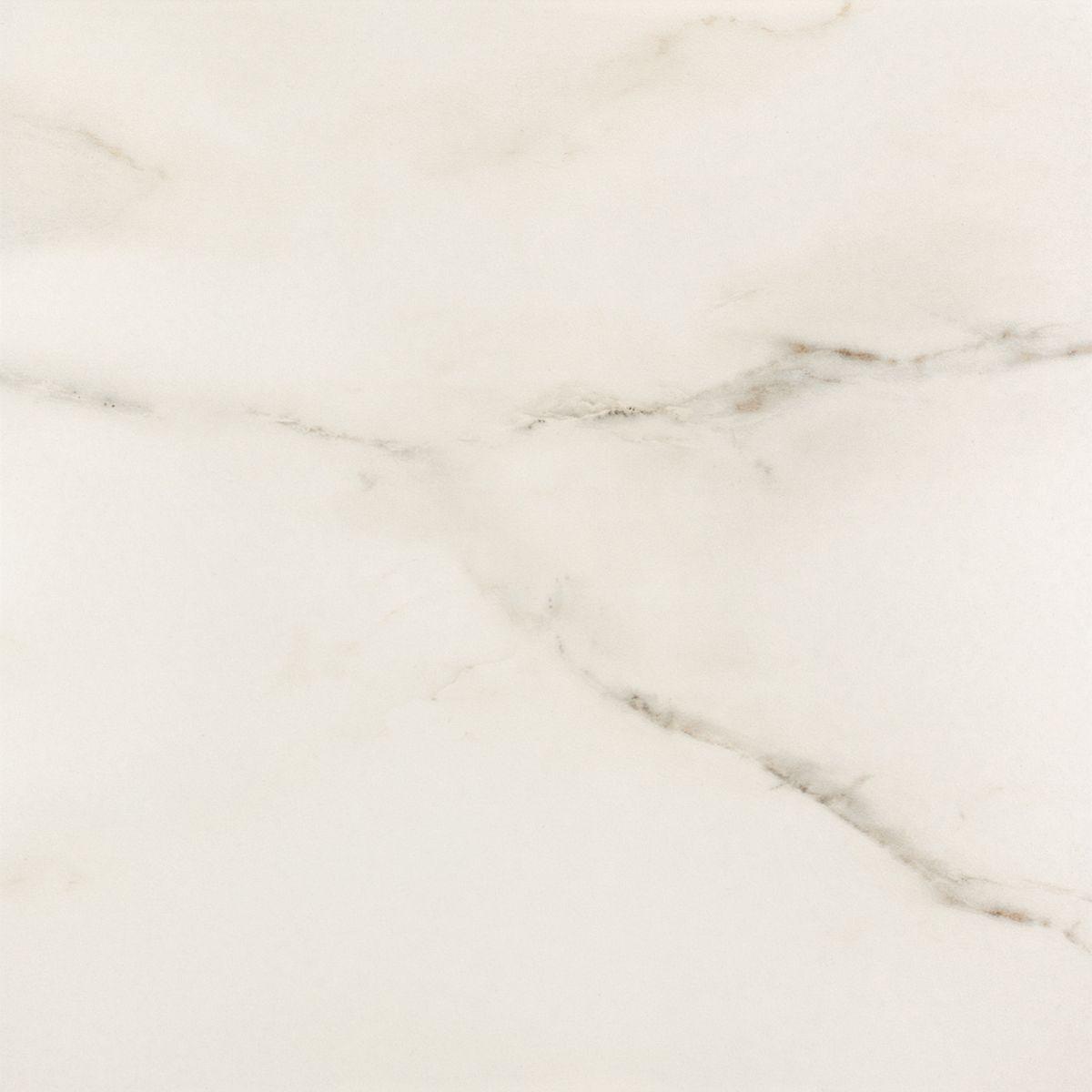 Carrara polished - dlaždice kalibrovaná 59,3x59,3 bílá lesklá