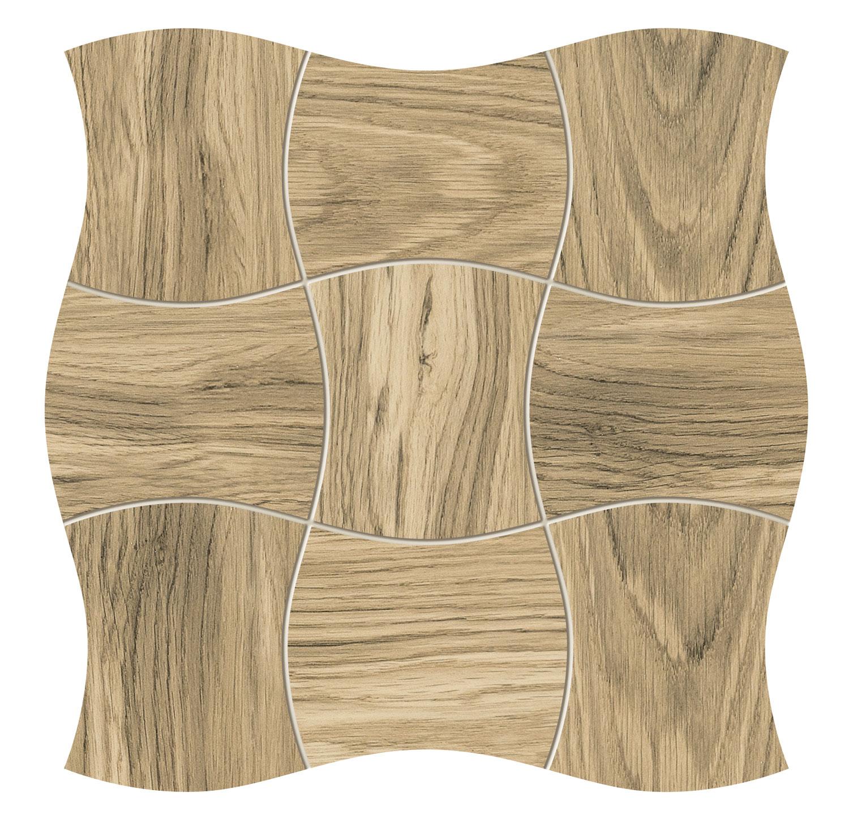 Royal Place wood - obkládačka mozaika 29,3x29,3 hnědá