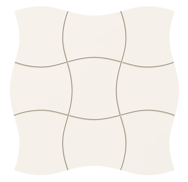 Royal Place white - obkládačka mozaika 29,3x29,3 bílá
