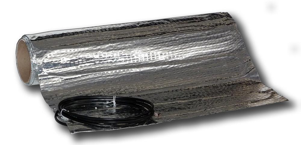 AL MAT 80/2 - topná rohož v hliníkové folií pod plovoucí podlahu
