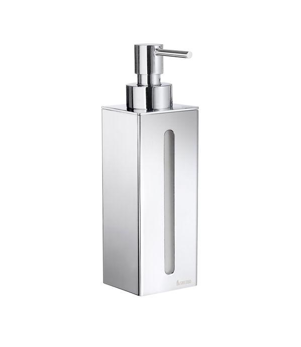 Smedbo Outline - dávkovač tekutého mýdla, nástěnný, chrom FK257