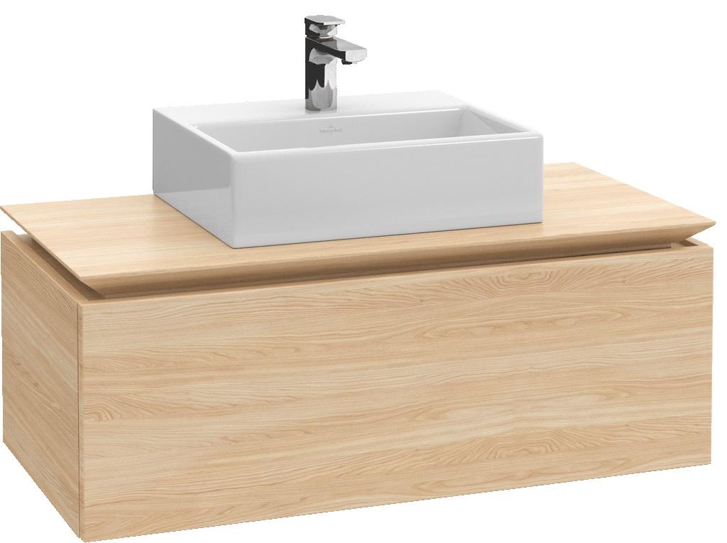 Villeroy-Boch Legato - spodní skříňka 100 x 50, závěsná, 1 zásuvka B10500xx