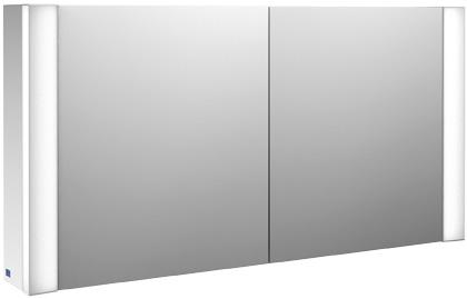 Villeroy-Boch My View - zrcadlová skříňka 120 x 61,6, diodové osvětlení B388FCxx
