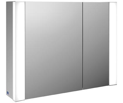 Villeroy-Boch My View - zrcadlová skříňka 80 x 61,6, diodové osvětlení B386F8xx