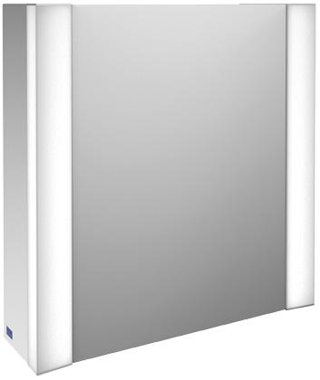 Villeroy-Boch My View - zrcadlová skříňka 60 x 61,6, diodové osvětlení, panty vpravo B395F6xx