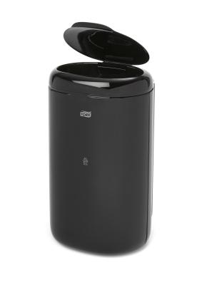B5 odpadkový koš - 5 l, plast černý