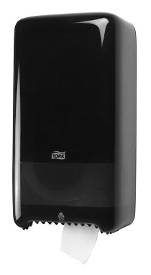Tork T6 zásobník na toaletní papír role - plast černý 557508