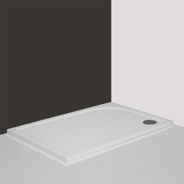 Roltechnik RECTAN-M 80x100 - sprchová vanička obdélníková, litý mramor 8000166