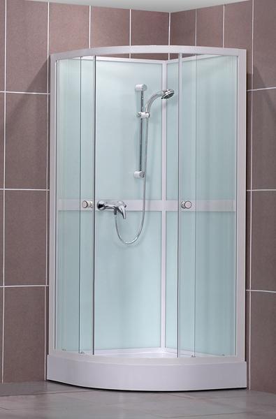 Roltechnik SIMPLE 80x80 - sprchový box čtvrtkruhový 4000248