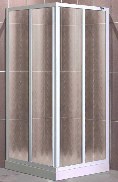 Roltechnik SPCS2 90x90 - sprchový kout čtvercový s posuvnými dveřmi 301-9000000-04-03