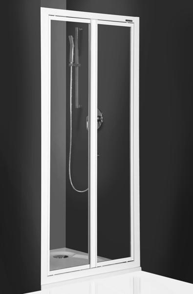 Roltechnik CDO2 90 - sprchové dveře dvoukřídlé 318-9000000-04-02