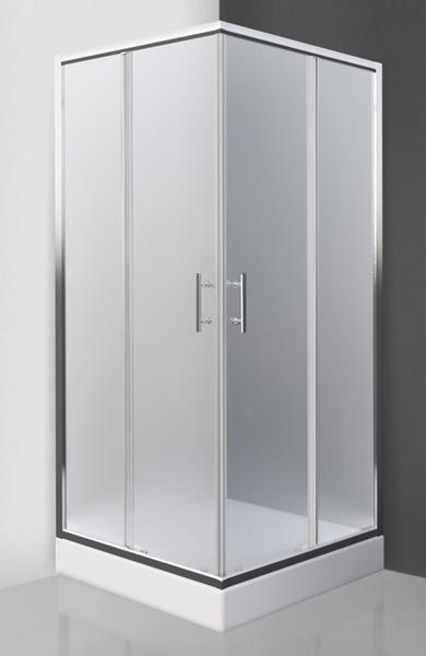 Roltechnik ORLANDO NEO 90x90 - sprchový kout čtvercový s posuvnými dveřmi N0655