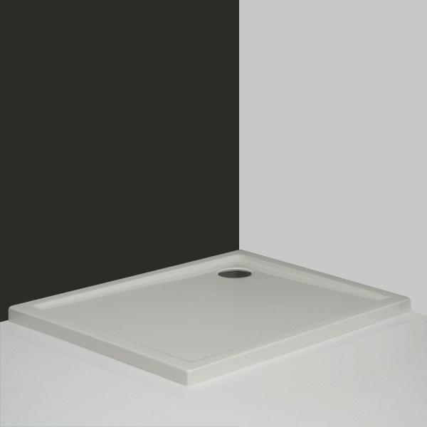 Roltechnik FLAT KVADRO 80x100 - sprchová vanička obdélníková, akrylátová 8000121