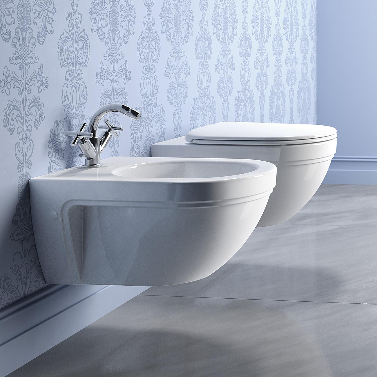 Catalano Canova Royal 55 - WC závěsné 36x55, bez sedátka 1VSCR00
