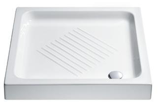 Base - sprchová vanička čtvercová 75x75