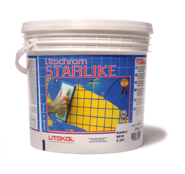 Litokol C.220 Silver - epoxidová spárovací hmota šedá, 5 kg STRSLV0005