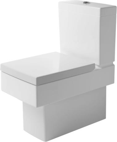 Duravit Vero - WC kombi, hluboké splachování, bez sedátka a nádržky 2116090000