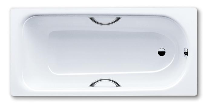 Kaldewei Saniform Plus Star - ocelová vana obdélníková 180 x 80 x 43 cm s otvory pro madla 337