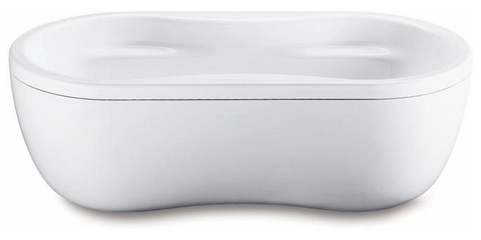 Kaldewei Mega Duo Oval - ocelová vana oválná 180 x 90 cm s panelem 184-7