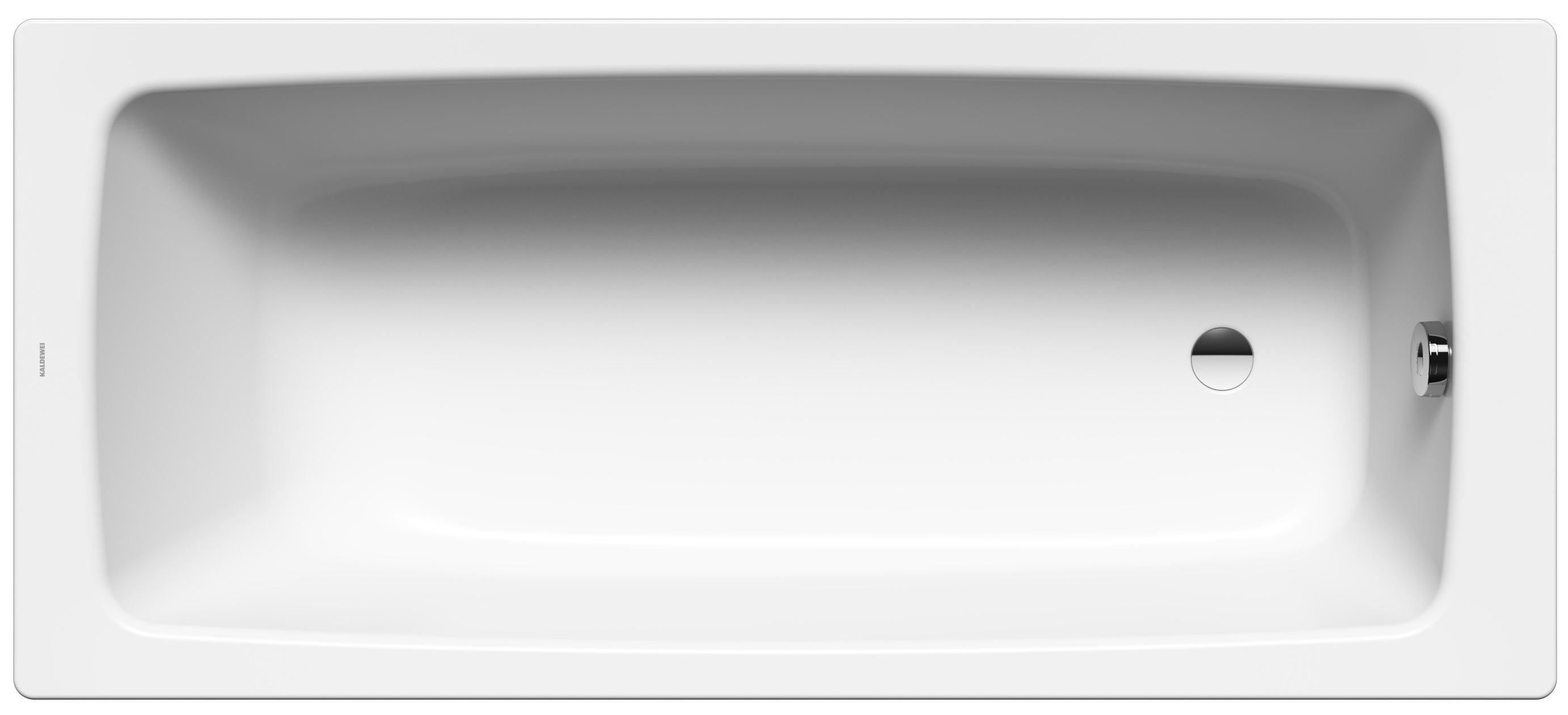 Kaldewei Cayono Star - ocelová vana obdélníková 170 x 70 cm s otvory pro madla 755
