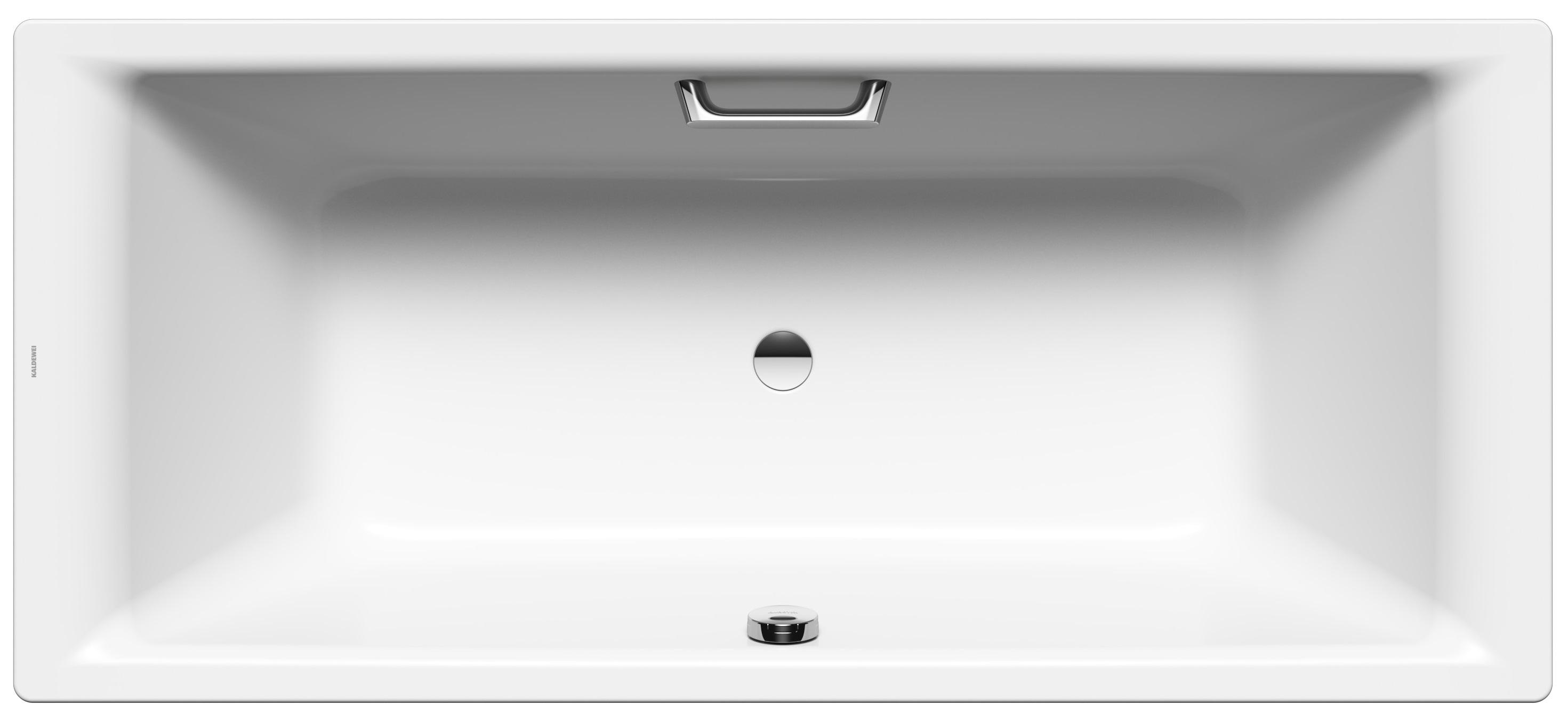 Kaldewei Puro Duo - ocelová vana obdélníková 180 x 80 cm s otvory pro madla 664G