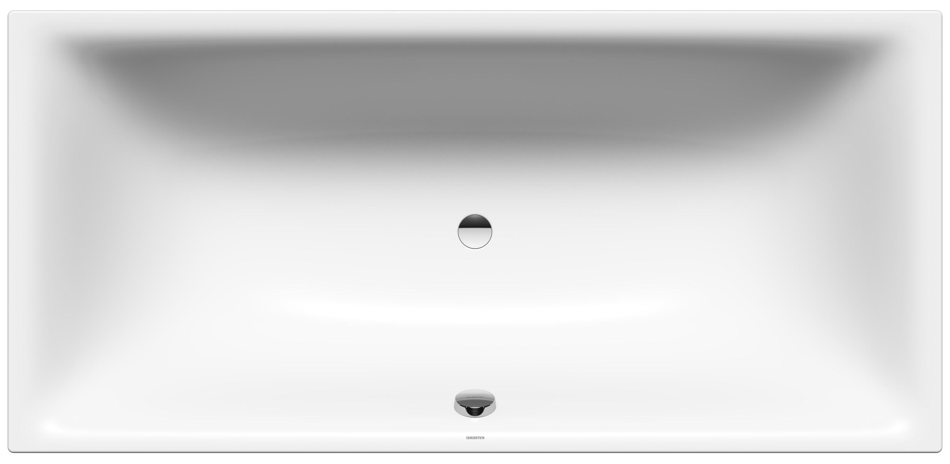 Kaldewei Silenio - ocelová vana obdélníková 170 x 75 cm s otvory pro madlo 674G
