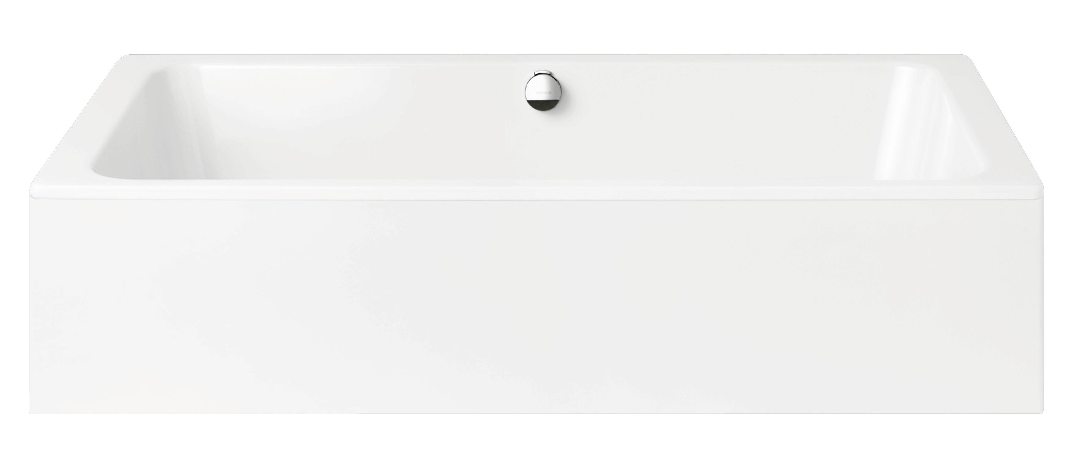 Kaldewei Bassino - ocelová vana obdélníková 200 x 100 cm s panelem do prostoru 144-7