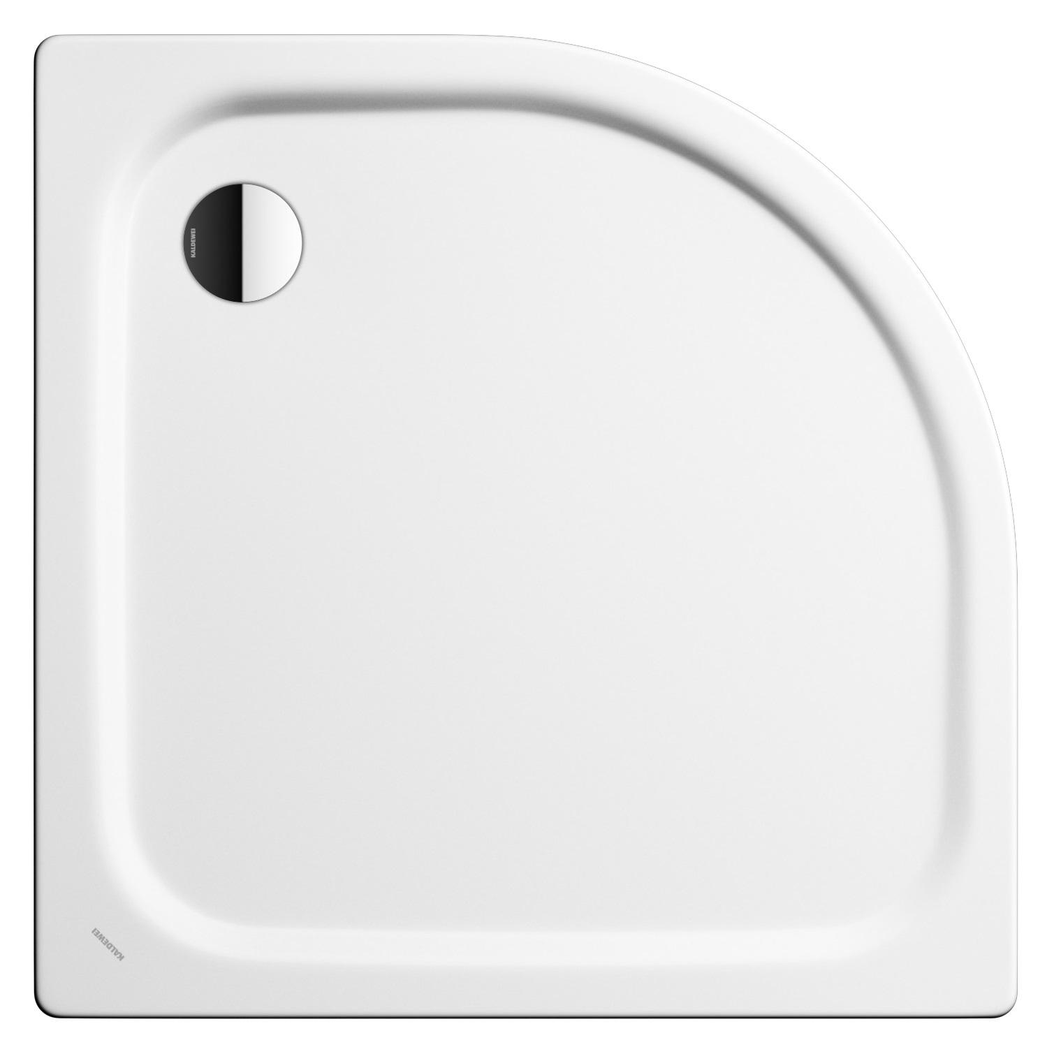 Kaldewei Zirkon - vanička čtvrtkruhová 100 x 100 x 3,5 cm, R 500 606-1
