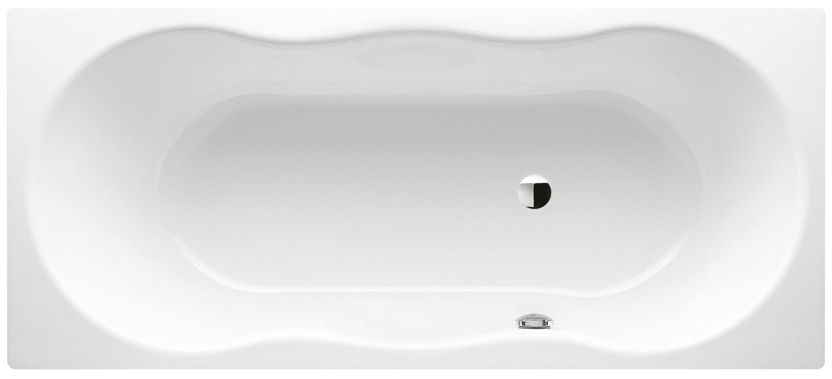 Kaldewei Novola - ocelová vana obdélníková 170 x 75 cm, přepad vpravo 252