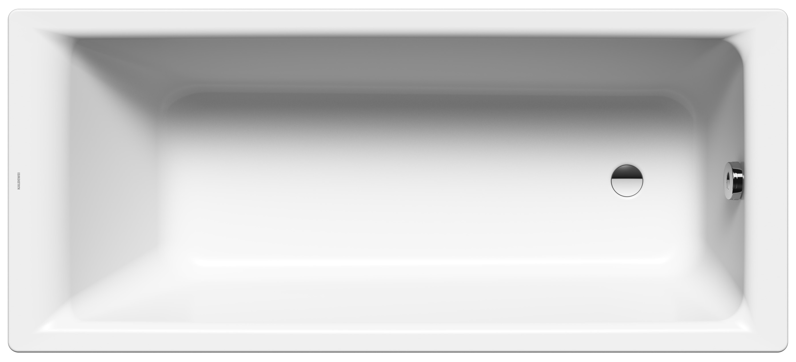 Kaldewei Puro - ocelová vana obdélníková 170 x 80 cm 691