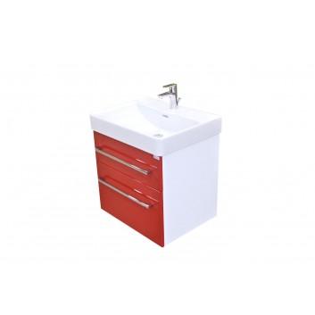 Eden Smaragd - spodní skříňka pod umyvadlo Laufen Pro S 65 cm, 2 zásuvky, závěsná SML65ZZ xxyy