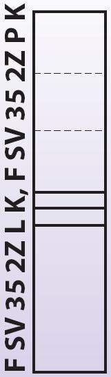 Intedoor Florida - vysoká skříňka 35 cm, závěsná se 2 zásuvkami a košem na prádlo, panty vlevo FSV352ZLK