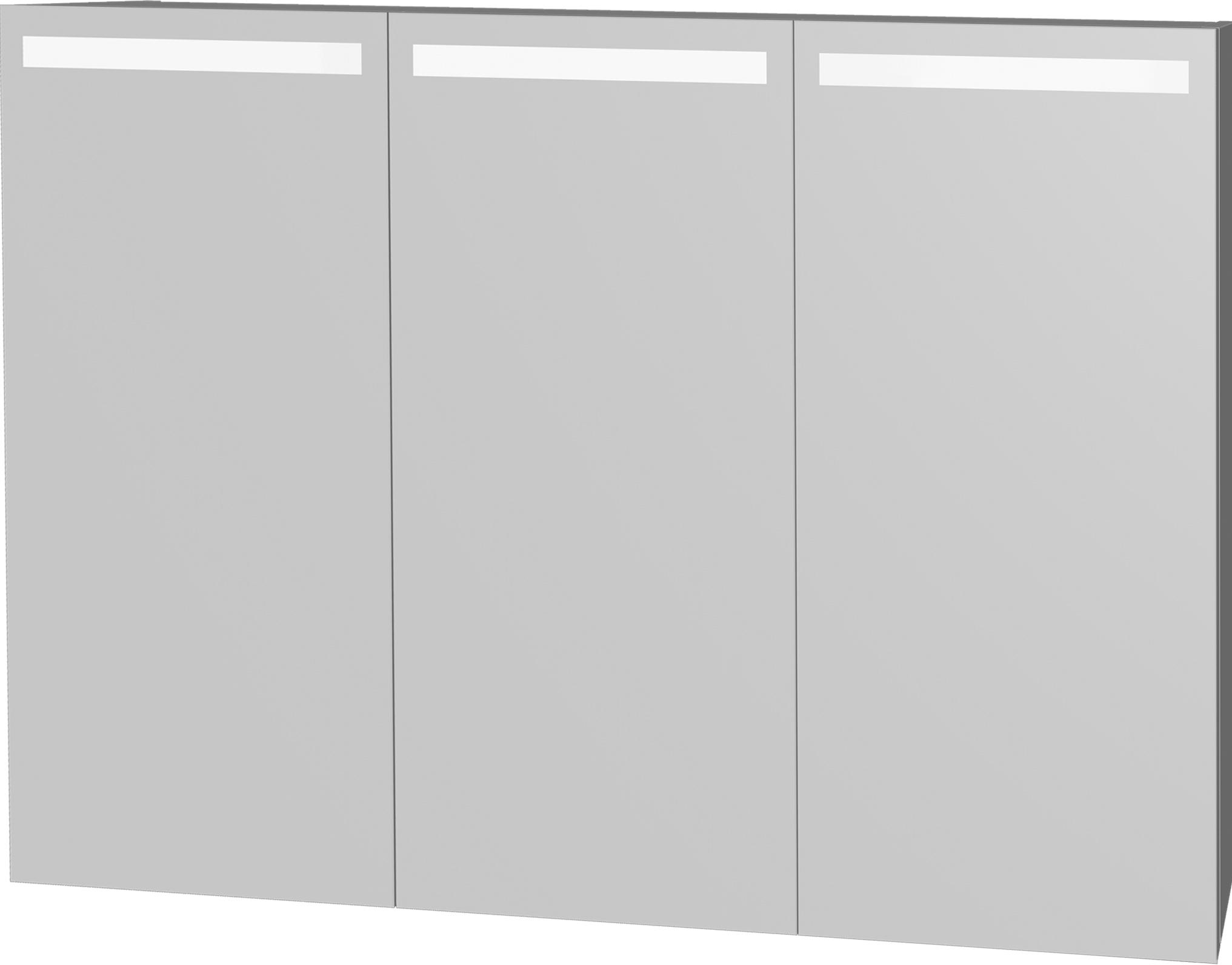 Intedoor Zrcadlová skříňka 120x72 cm, s osvětlením DZS120