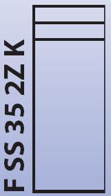 Intedoor Florida - střední skříňka 35 cm, závěsná se 2 zásuvkami a košem na prádlo FSS352ZK