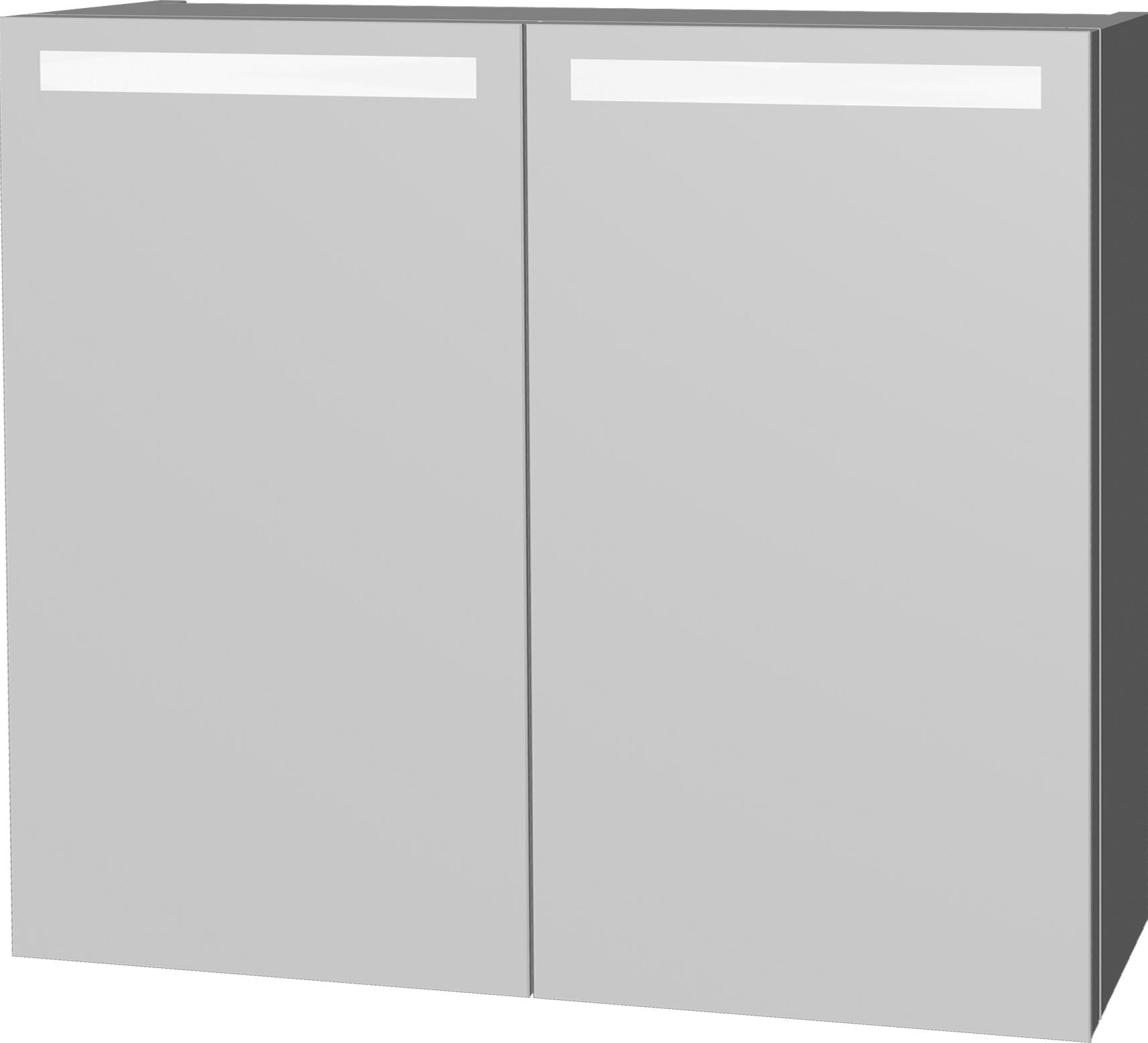 Intedoor Zrcadlová skříňka 80x72 cm, s osvětlením DZS80