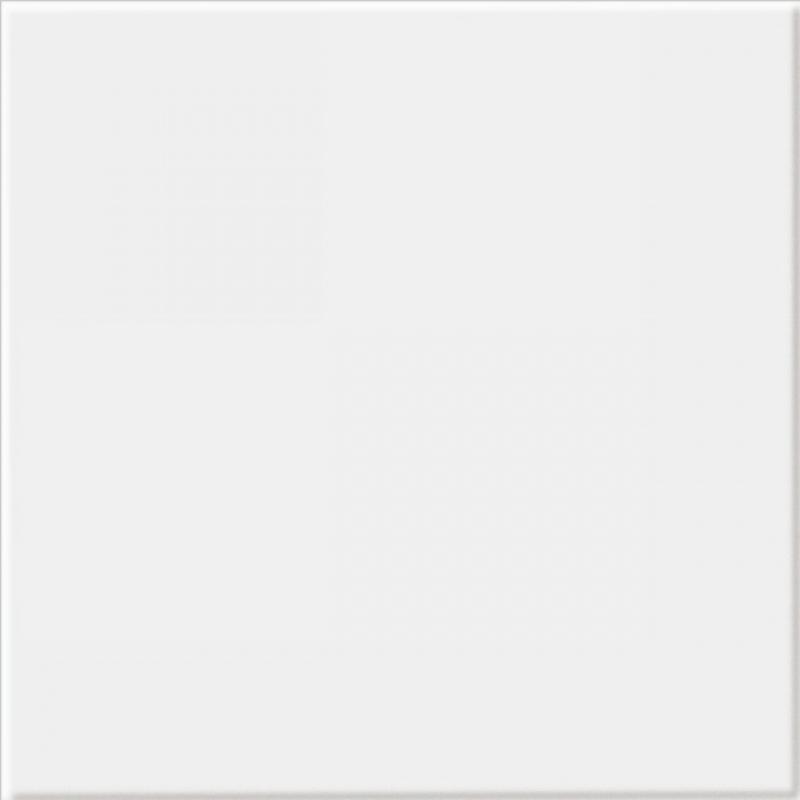 Cersanit PP400 white glossy - dlažba 33,3x33,3 bílá W322-017-1 Negra