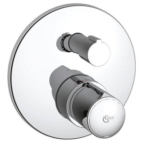 Ideal Standard Melange - sprchová termostatická podomítková baterie, vrchní sada A4721AA